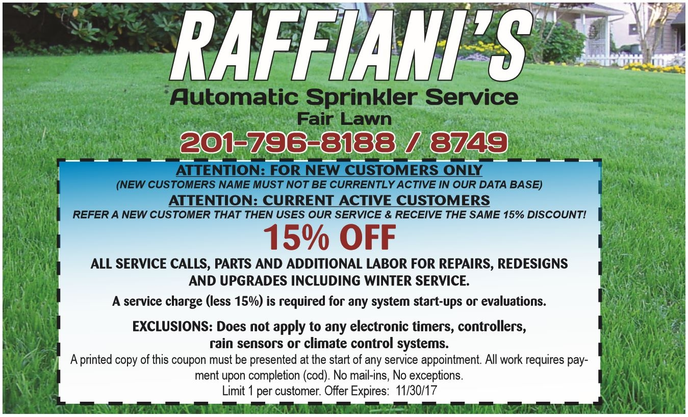 Parts Direct Coupon Lawn Sprinkler Deals Coupons For 2017 Raffianis Automatic