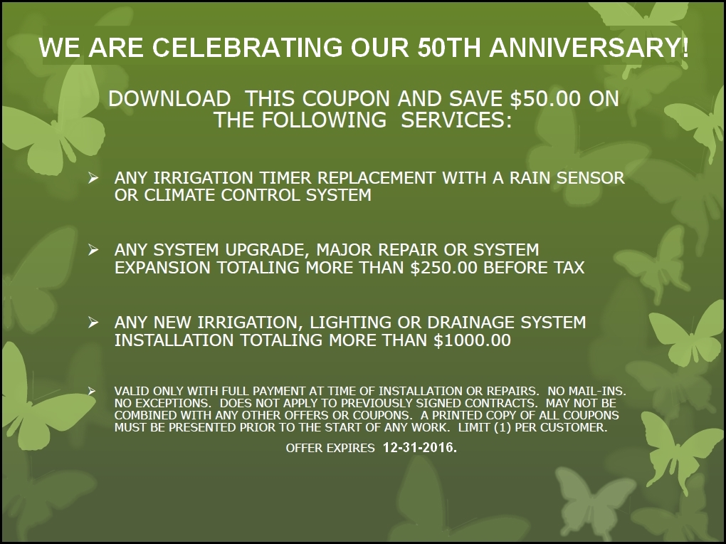 Lawn Sprinkler Deals Coupons For 2015 Raffiani S