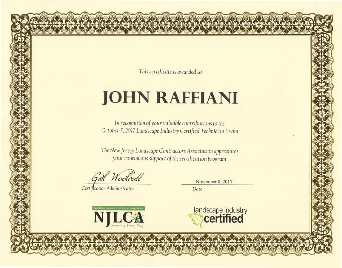 Testimonials 2017 judge for the irrigation module of the planet land care networks nalp landscape industry certified technician exam xflitez Choice Image