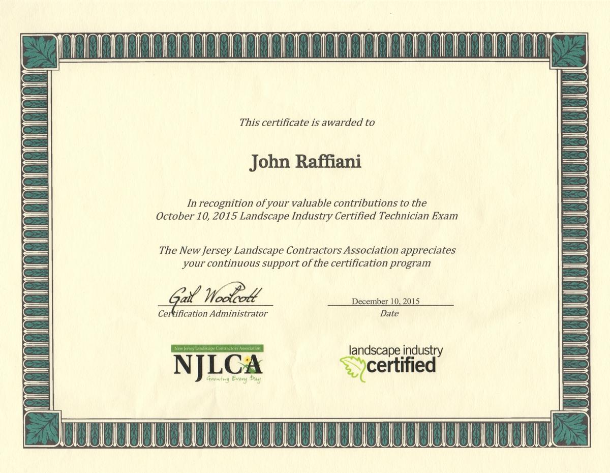 Testimonials planet land care networks nalp landscape industry certified technician exam xflitez Images